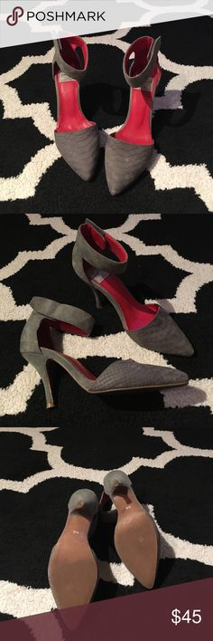 """Jeffery Campbell """"Bridges"""" Pump Jeffrey Campbell Pumps In Color Grey!! Worn Gently - good condition!! Jeffrey Campbell Shoes Heels"""