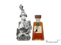 Dos magníficos diseñadores fueron los encargados de decorar estas botellas de #Tequila 1800