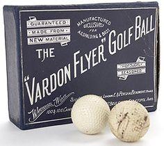"The ""Vardon Flyer"" Golf Ball"