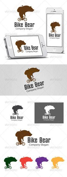 Logotipos para Tiendas de Bicicletas de estilo Hipster.