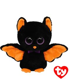 Baron the bat -  I fly around all through the night And during the day I'm out of sight! #Halloween