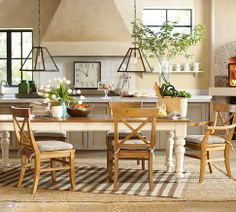 Keaton Extending Dining Table - French White | Pottery Barn