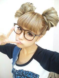 Japanese model Nana Suzuki from Popteen