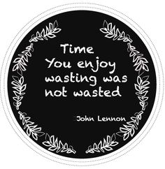 quote John Lennon......and this was before pinning.