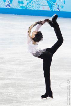 羽生結弦   Hanyu Yuzuru   Yuzuru HANYU   Men Free Skating,  Olympic Games 2014