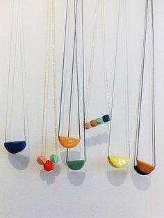 Hear Hear Ceramics Necklace