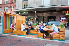 A Parklet for Norfolk, VA.