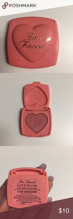Too Faced Too Faced love flush love hangover travel size too Makeup Blush