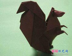 origami rat 1