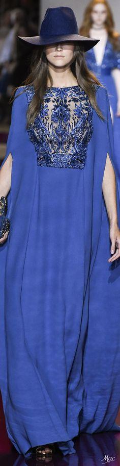Zuhair Murad Fall 2016 Haute Couture ~MamboyMara Gris Raya~