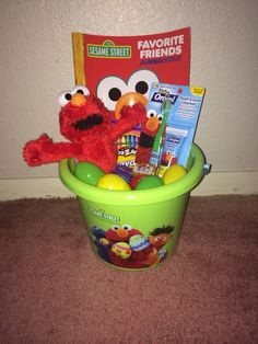 Thomas the train tank engine and friends easter basket easter elmo easter basket negle Gallery