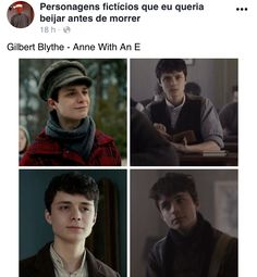 Gilbert Blythe, Anne Shirley, Gilbert And Anne, Anne White, Best Tv Series Ever, Beautiful Series, Big Words, Period Dramas, Gossip Girl