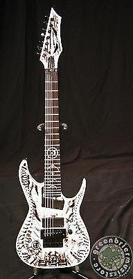 Dean Rusty Cooley 7 String Electric Guitar Wraith W/ Case - http://www.7stringguitar.org/for-sale/dean-rusty-cooley-7-string-electric-guitar-wraith-w-case/33404/