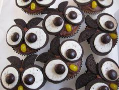 oreo owl cupcakes!