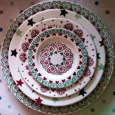 Christmas plates :)