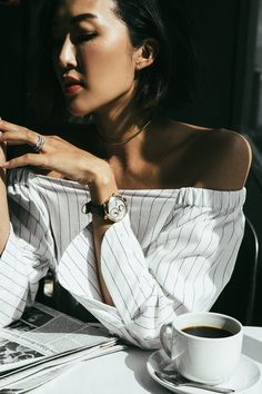 #FerragamoTime | Our Hearts Skip a Beat Chriselle Lim wears the new Ferragamo Cuore watch, an exclusive timepiece featuring an inner circle set with diamonds and a signature gold IP beating heart. Visit http://cuore.ferragamotimepieces.com/