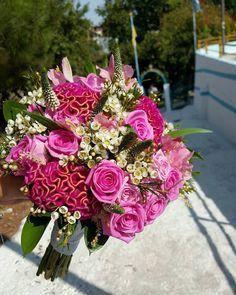 🌹 Wedding Day 🌹 #weddingingreece #weddingbouqet #weddingDay #wedding #roses #pinkrose #pinkflowers #uniquebeauty #uniquecolor #nofilters #justthesun #happyday #happylife #greece #thessaloniki Fresh Flowers, Pink Flowers, Greece Thessaloniki, Greece Wedding, Unique Colors, Happy Day, Floral Wreath, Wedding Day, Roses