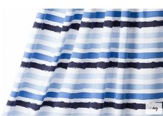 A beautiful summer weight jersey from Lillestoff at 125 ( regular weight is normally around Perfect for tees, dresses, skirts etc. Grab Bags, Blue Stripes, Jan 2018, Beautiful, Spandex, Crafty, Tees, Skirts, Summer
