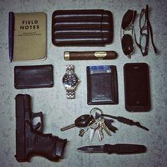 Everyday men's accessories
