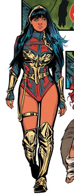 Superhero Characters, Comic Book Characters, Comic Character, Comic Books Art, Wonder Man, Wonder Woman Art, Comic Style Art, Comic Styles, Dc Comics Women