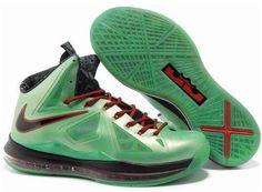 new arrive 60247 2c267 Discount Nike Lebron 10 Green Black Red Cheap Nike, Nike Shoes Cheap, Nike  Shoes