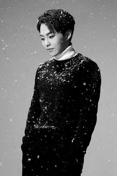 Xiumin - 151204 'Sing For You' comeback teaser photo Credit: Official EXO website.