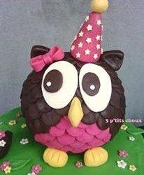 Gateau Iga, Merci Marie, Owl Cakes, Baby First Birthday, First Birthdays, Shapes, Christmas Ornaments, Halloween, Holiday Decor