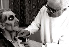 Receiving makeup for Tales From The Crypt