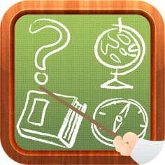 ANDROID GAME  There are more than 1500 multiple choice questions in this game, and 11 fields of knowledge, such as (geography, history, science, art, etc) and various difficulty levels.