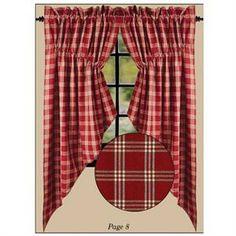 Dawson Kitchen Curtains   Blue   Lichtenberg   Country Kitchen Curtains |  Sew These Sometime | Pinterest | Country, Country Kitchens And Kitchens