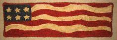 american flag rug hooking - Google Search