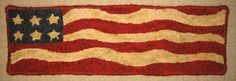 american flag rug hooking - Google Search