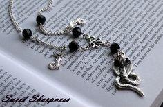 Gothic triple snake / cobra necklace    www.etsy.com/shop/SweetSharpness