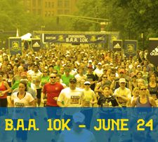 Running the 2012 B.A.A. 10K this June!
