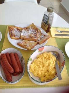 Desayuno de domingo, yummie!