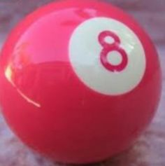Pink Eight Ball