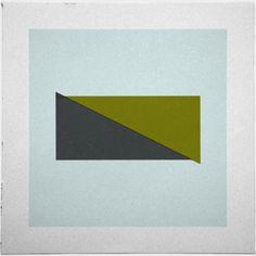 #57Adrift – A new minimal geometric composition each day