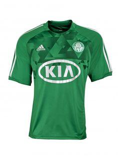 7b05bc12fe Brazil s SE Palmeiras new kits for 2012. Awesome! Camisas Palmeiras