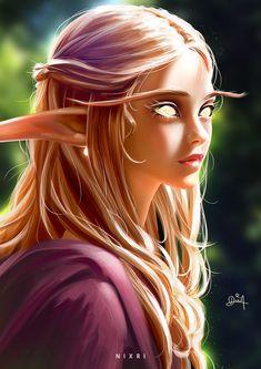 Sin'dorei Blood Elf girl Daily World of Warcraft Art Board ^^ // Blizzard // wow // Hearthstone // Geek Fantasy Women, Fantasy Girl, Character Portraits, Character Art, Fantasy Characters, Female Characters, Zelda Cosplay, Arcane Mage, Elfen Fantasy