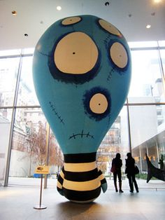 Tim Burton art exhibit at MoMA
