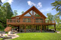 Home with Access to Wolf Lake. Country home and cabin real #realestate in #ElyMN. #bearislandland