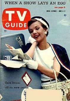 If you were born in 1956, chances are the folks in your neighborhood were tuning in each week to watch The Gail Storm Show (Oh Suzanna!) -  Gail was back on air with her 2nd hit TV show in the 50s with this one - she played an activity director on a cruise ship. It broadcast into 1960.