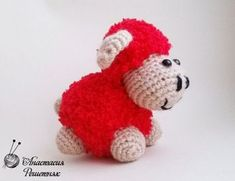 Kolay Amigurumi Kuzu Tarifi , Sizlere çok sevimli amigurumi oyuncak tarifi…
