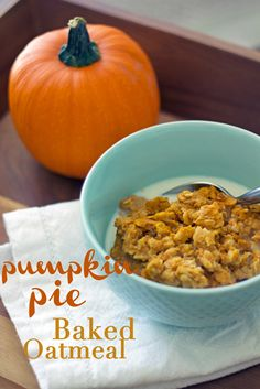 Gluten-Free, Dairy-Free Hearty, healthy, oaty, yummy and most importantly, PUMPKINY! This breakfast is so tasty and comforting on a chillyfall morning, it almost feels as ifyou're indulging in a delicious pumpkin dessert, but you're actually eating a healthy, tasty, and filling breakfast…no one said comfort food can't be healthy! If you have never madebaked oatmeal, …