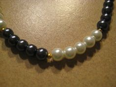 Classic Black and White Pearls 1