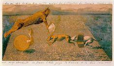 La chanson de la chair, Max Ernst, 1920