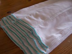 How To Sew Prefold Diapers-good measurements... http://christadovel.hubpages.com/hub/How-To-Sew-Prefold-Diapers
