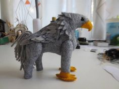 Make Yer Own Hippogriff tute with too many pics - TOYS, DOLLS AND PLAYTHINGS