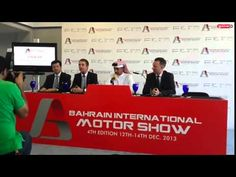 Bahrain International Motor Show Press Conference - YouTube