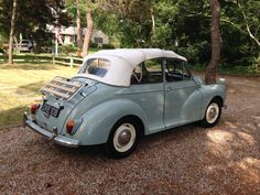 1955 Morris Minor Convertible Tourer - New Hampshire #eBay #Auction